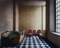 ancien vestibule de l'appartement de madame adelaide, versailles by robert polidori