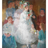 a wedding procession by paul udvary