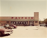 payfair parking lot by stephen shore