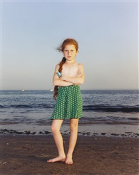 coney island, ny, july 9, 1993 by rineke dijkstra
