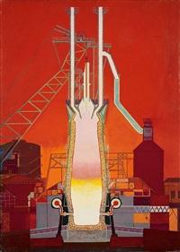 l'usine (la fabrica) by oscar domínguez