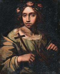 santa margherita d'antiochia by simone pignoni