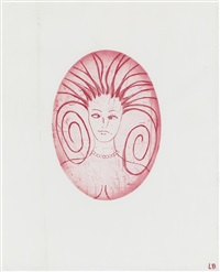 the cross-eyed woman iii by louise bourgeois