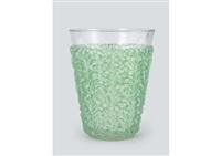 vase: saint-tropez by rené lalique