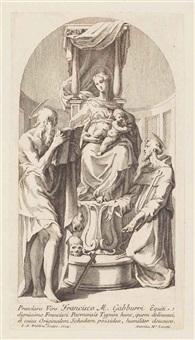 varii disegni inventati dal celebre francesco mazzuola detto il parmigianino tratti dalla raccolta zanettiana incisi in rame da antonio faldoni e novamente pubblicati venezia mdcclxxxvi by parmigianino