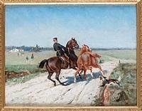 soldat till häst by johan georg arsenius