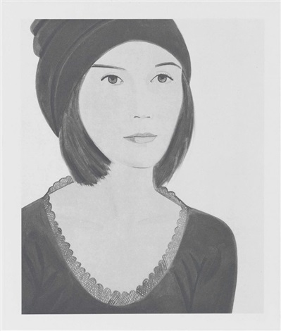 alex katz six female portraits portfolio of 6 by alex katz