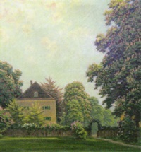 gartenlandschaft by carl faber