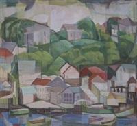 the wharf, no. 2 by clara l. deike