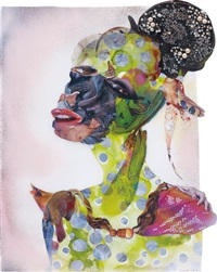 bat nose by wangechi mutu