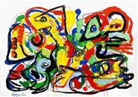 people in the country by karel appel