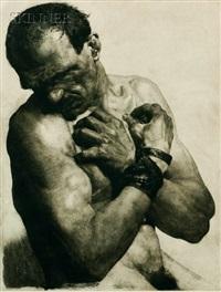 the bound man by erich wolfsfeld