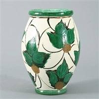 a floor vase by joachim christian herman kähler