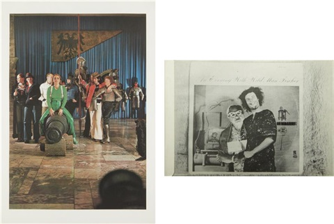 zeughaus (arsenal) and bizarre (2 works) by sigmar polke