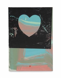 untitled (heart) by andy warhol
