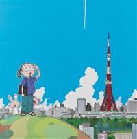 série de 6 offset by takashi murakami