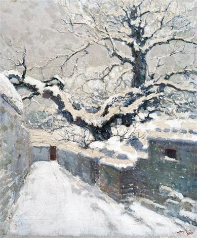 snowscape by ai zhongxin