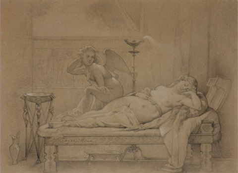 cupid and psyche by jean auguste dominique ingres