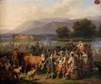 la vente du troupeau aux militaires by hippolyte lecomte