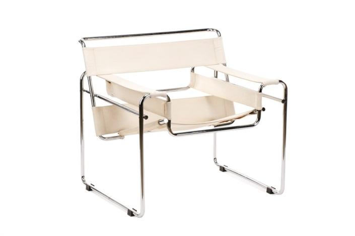 Astonishing Wassily Model B3 Lounge Chair Von Marcel Breuer Auf Artnet Home Interior And Landscaping Eliaenasavecom