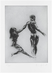 untitled (from couples) by eric fischl