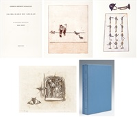 la ballade du soldat (set of 34) by max ernst