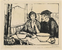 in der muschelstube i by erich heckel