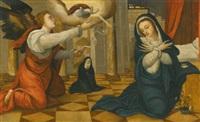 the annunciation by juan correa de vivar