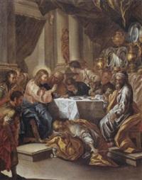 la cena di cristo in casa di simone by onofrio avellino