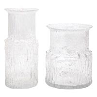 arnica vases, for iittala (pair) by tapio wirkkala