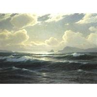 crashing waves by carl kenzler