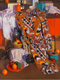 still life with brown bananas by janet monafo