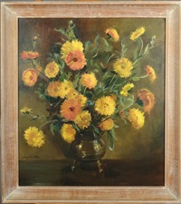 bouquet de soucis by marcel gillis