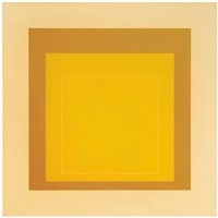 wls x (from white line squares) (series ii) by josef albers