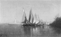 venetian fishing boats by david maitland armstrong