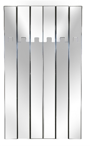 Un appendiabiti-specchio da parete von Elco auf artnet