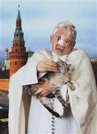 the pope and patriarch (2 works) by vladislav mamyshev-monroe