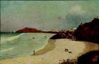 porthmeor beach, st. ives by william eadie