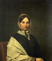portrait of amelia grant deblois by francis alexander
