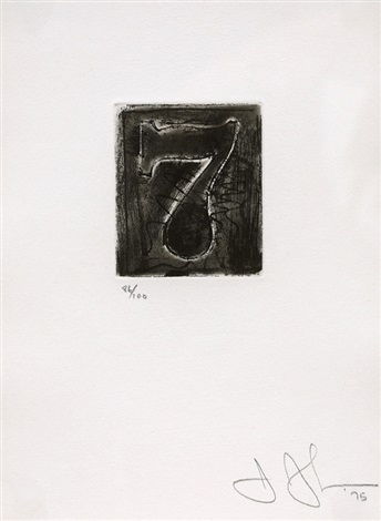 figure 7 by jasper johns