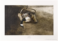 paintings (8 works) by andrew wyeth