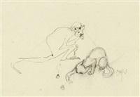 tiere (5 works) by hans (fis) fischer