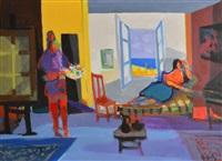 le peintre et le modèle by marcel mouly