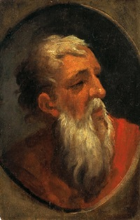 testa di profeta by domenico beccafumi
