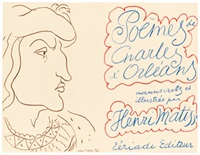 charles d'orleans. poèmes (mit 100) by henri matisse