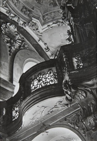 baroque interior (from the prague churches cycle) by jaromir funke