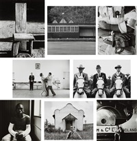 selected images (8 works) by david goldblatt