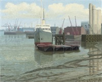 blackwall reach and cable ship (+ 2 others; 3 works) by anne e. christopherson