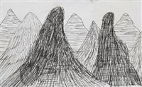mountains by david hockney