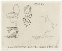 rebus by marcel duchamp